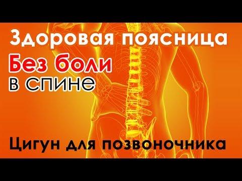 Цигун от болей в позвоночнике