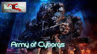 Royalty FreeRock:Army of Cyborgs