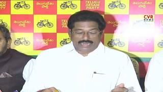 TDP MLA GV Anjaneyulu Slams  YS Jagan and Ramana Deekshithulu | CVR News - CVRNEWSOFFICIAL