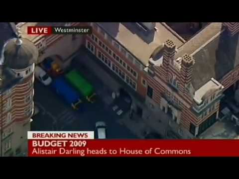 Lurking in the background during live broadcasts Budget Day 2009
