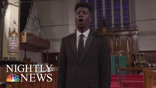 Opera student raises $40,000 in performance for college tuition | NBC Nightly News - NBCNEWS