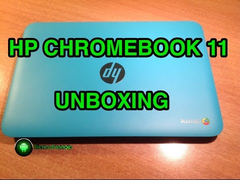 HP Chromebook 11 nl-2000 - unboxing in italiano