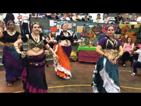 Resham-Ka Tribal ATS belly dance at Fusion Sundays market, Dublin - Part 2