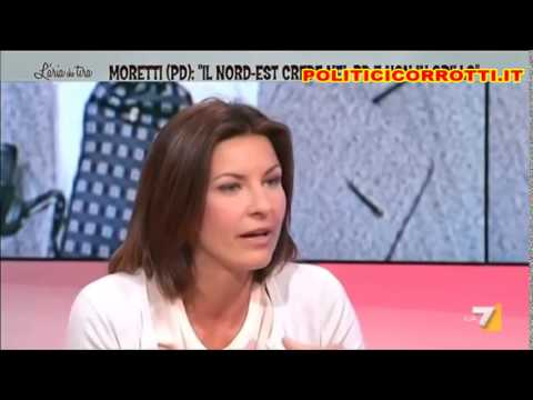 Oliviero Beha sbugiarda Alessandra Moretti (PD).