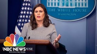 Watch Live: White House Press Briefing - December 14, 2017 - NBCNEWS