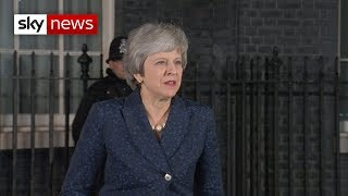 Breaking News: Theresa May's victory speech in full - SKYNEWS