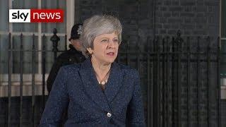 Breaking News: Theresa May's victory speech in full - SKYNEWS