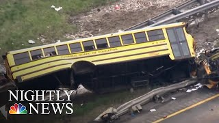 NTSB Calls For 3-Point Seat Belts In New School Buses | NBC Nightly News - NBCNEWS