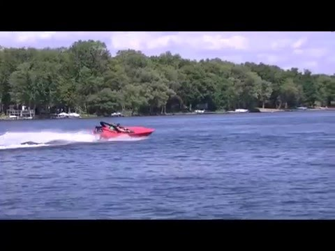 Check out this St. Martin F-15 Mini Power Boat