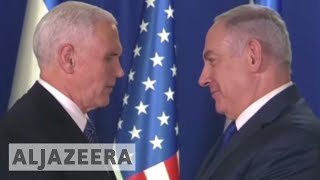 Mike Pence: US embassy to open in Jerusalem in 2019 - ALJAZEERAENGLISH