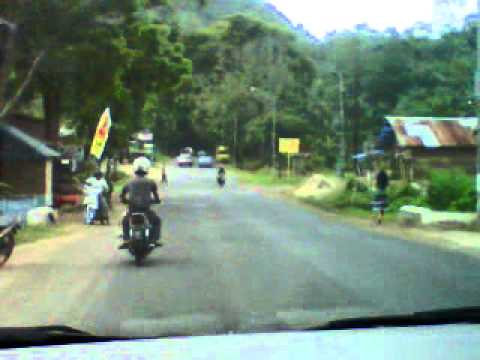 Indonesia-Minang Kabau: Nostalgia song on road while back my home Ranah Minang Sumbar