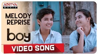Melody Reprise Video Song || Boy Songs || Lakshya Sinha, Sahiti || Elwin James and Jaya Prakash.J - ADITYAMUSIC