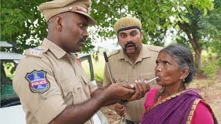 Village lo Drunk and Drive  | My Village Show Comedy - YOUTUBE