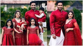 Vishnu Manchu Family At Sangeeth Function Adorable Moments | Tollywood Updates - RAJSHRITELUGU