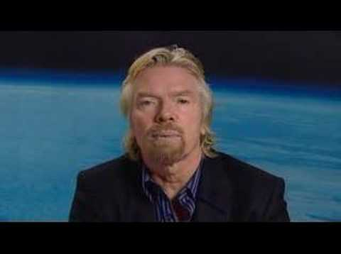 Virgin Galactic promotional trailer starring Richard Branson