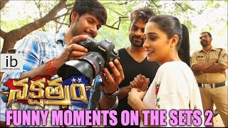 Nakshatram funny moments on sets - idlebrain.com - IDLEBRAINLIVE