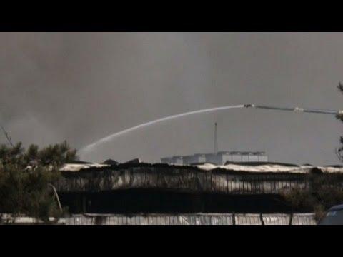 Fuego mortal en matadero chino