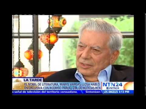 Vargas Llosa asegura que dictaduras de Cuba y Venezuela