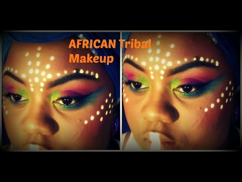 African Tribe Makeup