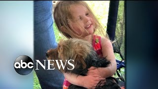 3-year-old missing girl rescued by family dog - ABCNEWS