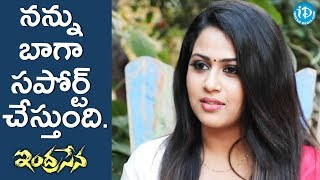 She Supported Me A Lot  - Diana Champika || #Indrasena || Talking Movies With iDream - IDREAMMOVIES