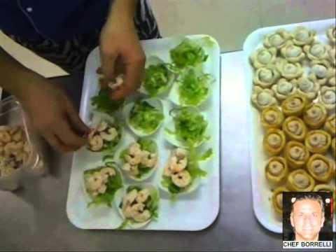 UNA CUCINA DIVERTENTE ! Finger food con perle finali dello chef