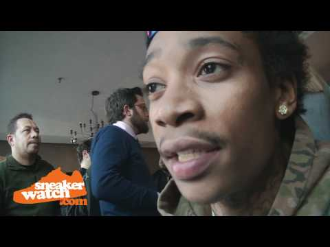 Wiz Khalifa Talks About Jordans & Curren$y's Jordan Collection