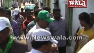 Mouzam Khan's election campaigning at Acchi Reddy Nagar - THENEWSWALA