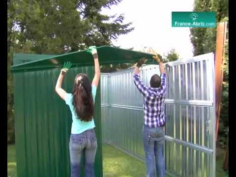 Related video - Montage abri de jardin metal ...