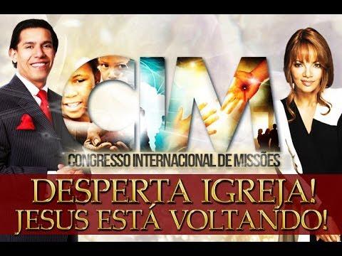 Pr. Abilio Santana Desperta a Igreja para a Volta de Jesus Cristo