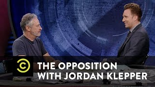 "The Opposition w/ Jordan Klepper - Jon Stewart Talks ""Night of Too Many Stars"" - COMEDYCENTRAL"