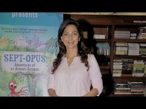 Yesteryear's Beauty Juhi Chawla At A Book Launch!