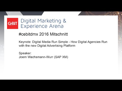 #cebitdmx: How Digital Agencies Run with the new Digital Advertising Platform