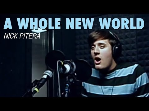 Me Singing A Whole New World Disney's Aladdin Nick Pitera (Cover)