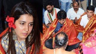 Srinivasa Kalyanam Movie Team Visits Dwaraka Tirumala | Nithin | Raashi Khanna | TFPC - TFPC