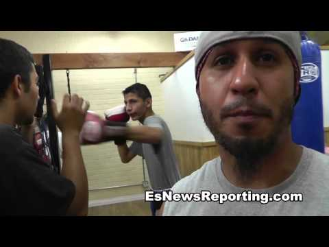 13 year old got boxing skills - EsNews Boxing
