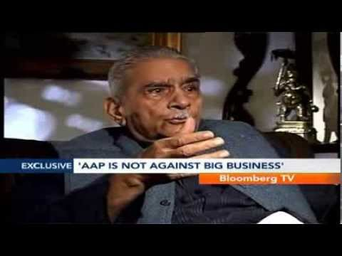 The Courtroom- AAP Not Against Big Business: Shanti Bhushan