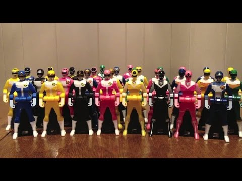 Legend Sentai Series Ranger Key Set Legend Edition Review