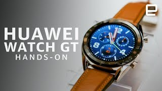 Huawei Watch GT Hands-On - ENGADGET