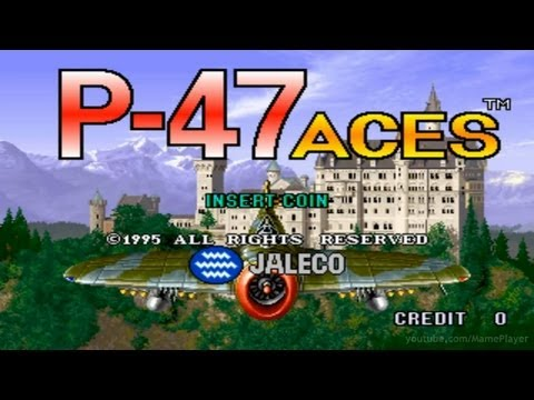 P-47 Aces 1995 Jaleco Mame Retro Arcade Games