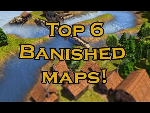Banished Map Seed Large Flat Top 6 Banished Maps And Seeds