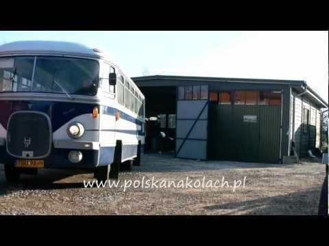 San H-27A - pierwsza wycieczka po powrocie z remontu cz. 2 - zabytkowy autobus w ruchu ulicznym