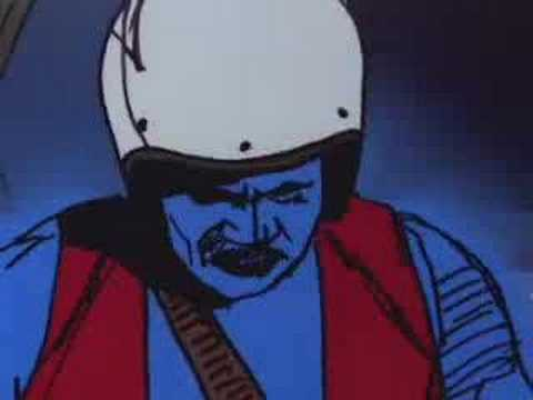GORK Sci-Fi trailer Rotoscope animation