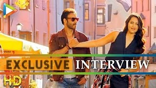 Ajay Devgn Sonakshi Sinha exclusive interview on Action Jackson - Part 1 - HUNGAMA
