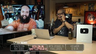 RX 590, RTX on in Battlefield 5, 2080 Ti failures, Q&A | The Full Nerd Ep. 74 - PCWORLDVIDEOS