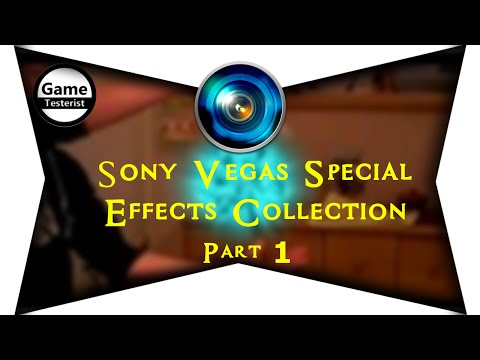 Sony Vegas Pro 10 Special Effects Collection (PART 1)