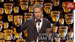 Sam Rockwell wins Supporting Actor BAFTA - The British Academy Film Awards: 2018 - BBC One - BBC