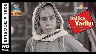 Balika Vadhu : Episode 1798 - 31st January 2015