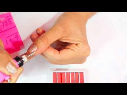 tirar as cutículas fácil com a caneta de manicure