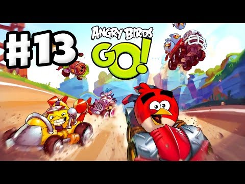 Angry Birds Go! Gameplay Walkthrough Part 13 - Terrance Recruited! Rocky Road (iOS, Android)